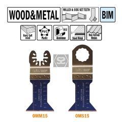 CMT OMM15 45mm Plunge & Flush For Wood & Metal 5