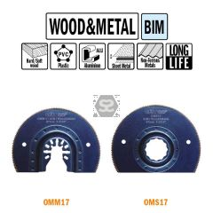 CMT OMM17 87mm Radial Saw Blade For Wood & Metal