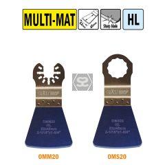 CMT OMM20 52mm Flexible Scraper - All Materials