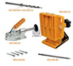 CMT Pocket-Pro Drilling Jig Starter Set