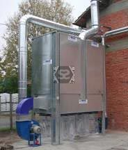 Dust Extraction Plant - Closed Multi Bag