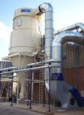 Dust Extraction Plant - Cyclone Filter
