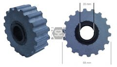 Brandt Homag Edgebander Top Pressure Roller