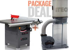 iTECH 250mm Cast Iron Table Saw Bench SPRING OFFER