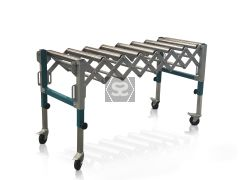 iTECH Adjustable Roller Conveyor Table 26133