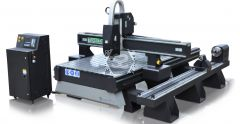 TigerTec TR510 CNC Router with Rotary Axis