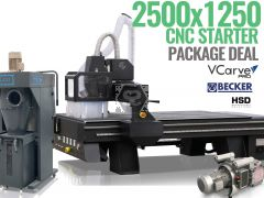 TigerTec CNC Router TR408 8x4 Starter Package Deal