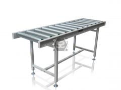 HD Roller Conveyor Table with Legs L = 200 cm