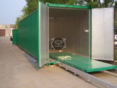 Kiln in Container 40' - Electric Heating
