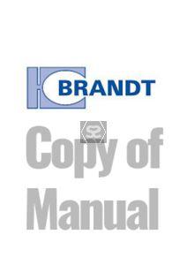 Copy of Manual for Brandt KDF350 Optimat