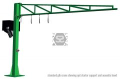Manut Jib Crane 250 kg L=6m for Vacuum Lifter