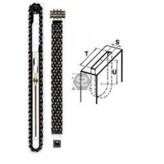 Chain Mortise  Set S=16 T=50 U=150 mm