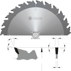 OMAS 314 Industrial TCT Rip Saw Blade