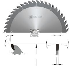 OMAS TCT General Purpose Saw Blade d=35 D=600 Z=10