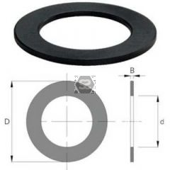 "OMAS Spacing Shim d=1 1/4"" D=80 Z= V= B=25"