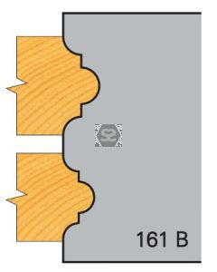 OMAS 394 Pair of Profile Cutters 161B