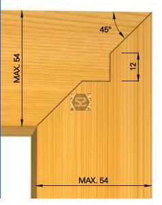 OMAS 428Z Mitre  Joint Cutter Head Set d=31.75
