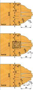 OMAS K421-29 Door & Window Moulding Set d=31.75