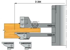 OMAS K421-15 Door Tenoning Set d=31.75