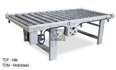Knife Edge Disc Roller Table 2000x1300mm