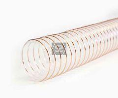 6.0m PU S1 Heavy Duty Flexible Ducting D=180mm
