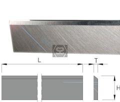 HSS Planer Blade L= 130 x 30 x 4mm