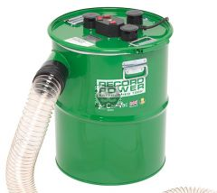 "RECORD CGV386-6 CamVac 90L 3000w Vacuum w 4"" Inlet"
