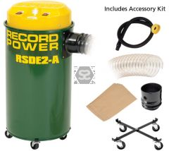 Record Power RSDE2A 55l Dust Extractor Auto Switch