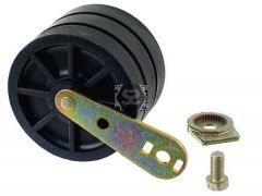 0001302037F Roller for Sectional Pad Reader