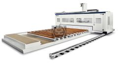 SCM Area CNC Router for CLT House Panels