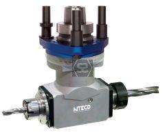 Hiteco Fastline HSK63F Twin CNC Aggregate H=100