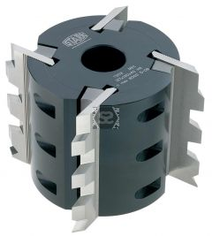 Stark Serrated Cutter Block D=122 d=40 z=4 B=100
