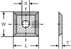 L=12 H=12 a=1.5 Replaceable Tungsten Blade Box/10