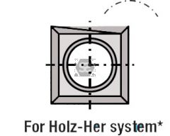 L=14 W=14 T=1.2 for Holzher TC Blades Box/10