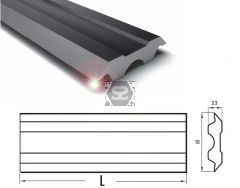 HSS Planer Blade for Tersa System L=500