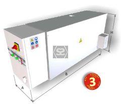 SAT36 OAD 36kw Diathermic Oil Boiler upto 200° C