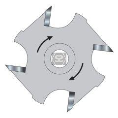 TREND 34/04TC Slotter 5mm Kerf X 50mm  12mm Bore