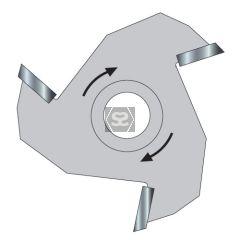 TREND 34/4TC Slotter 10.0 Kerf X 40mm  12mm Bore