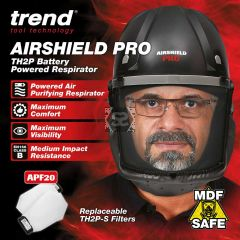 TREND AIR/PRO Airshield Pro Respirator 240v Uk