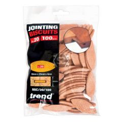 TREND BSC/20/100 Biscuit No 20 100 Off