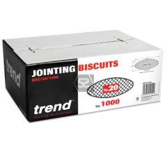 TREND BSC/20/1000 Biscuit No 20 1000 Off