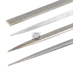 TREND DWS/NFPK/F Diamond Needle File 4 Pack Fine