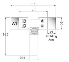 Whitehill A1 Blank [pr] 30 x 45 x 4mm HSS