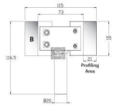 Whitehill B Blank Cutters [pr] 55 x 45 x 4mm