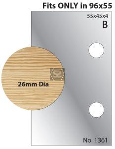 Whitehill 28mm Dowel Cutters 1361