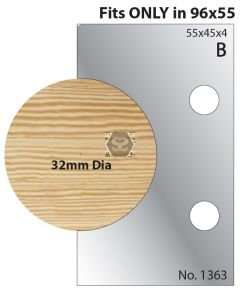 Whitehill 32mm Dowel Cutters 1363