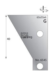 Whitehill 65mm Scribing Cutters [pr]  no.6545