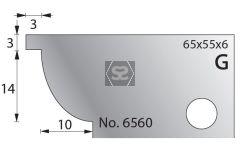 Whitehill 65mm Scribing Cutters [pr]  no.6560
