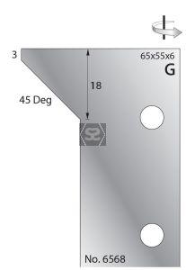 Whitehill 65mm Scribing Cutters [pr]  no.6568
