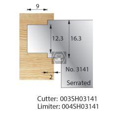 Whitehill Serrated Cutter no.3141 Cutter  [pr]